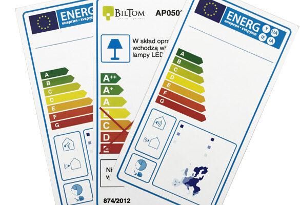 Etykiety Energetyczne 1